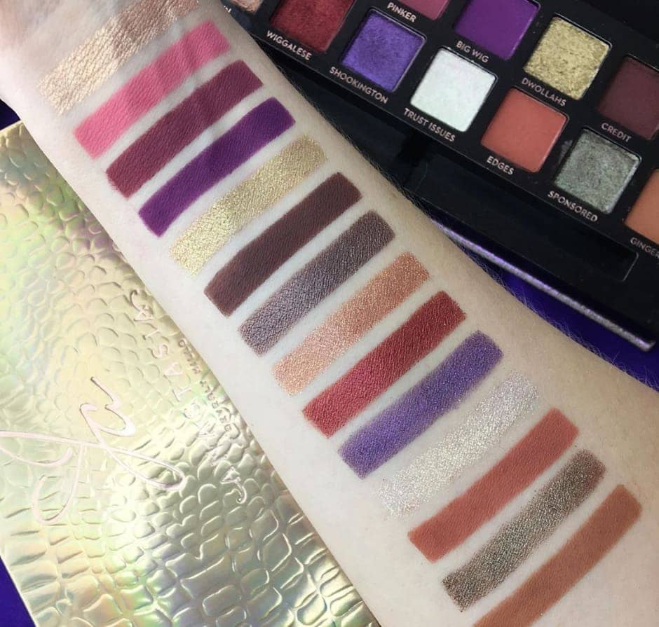 Anastasia Beverly Hills palette ombretti Jackie Aina