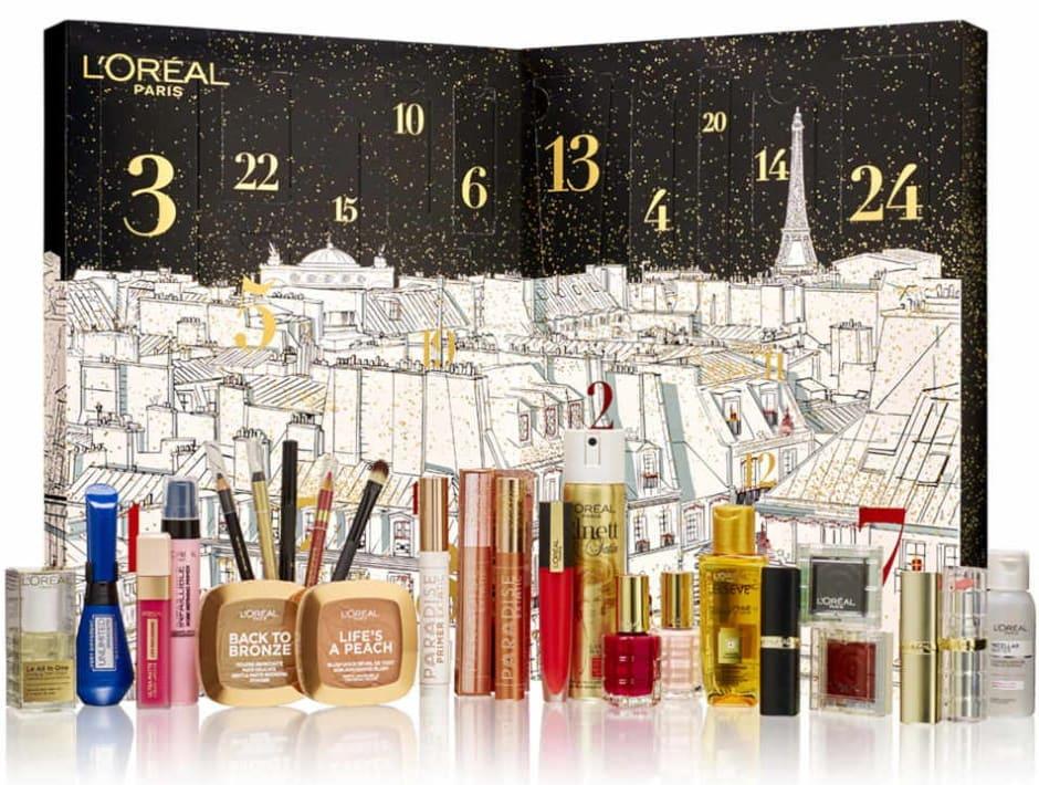 Calendario L'Oréal Natale 2019