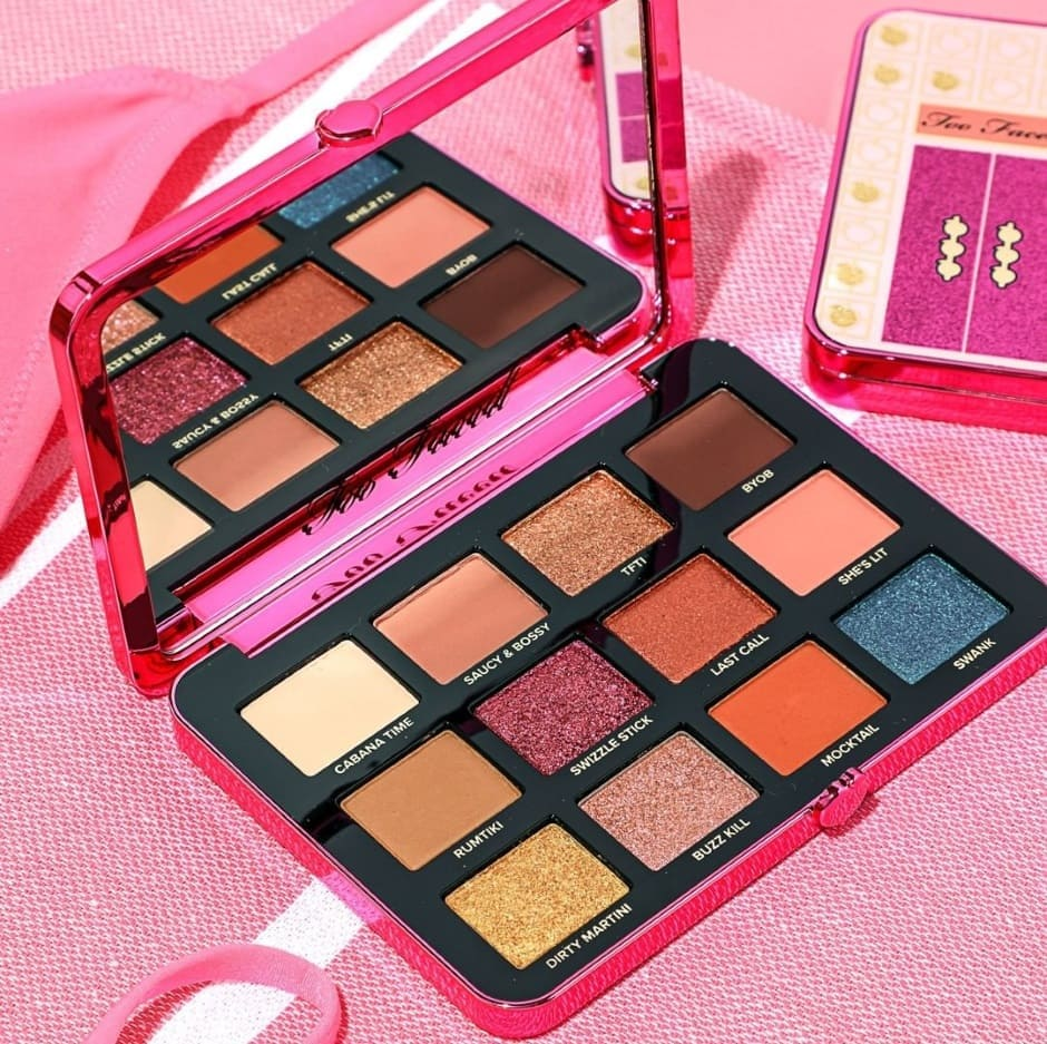 Palm Spring Too Faced Palette Ombretti Autunno 2019