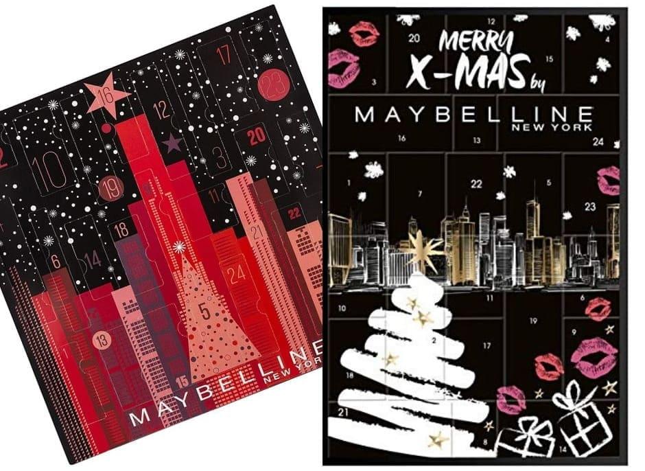 Calendari Avvento Maybelline Natale 2019