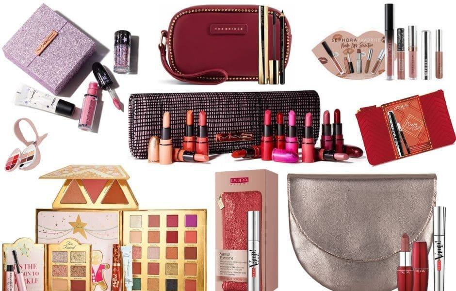 Cofanetti Natale 2019 e kit make-up: le più belle idee regalo