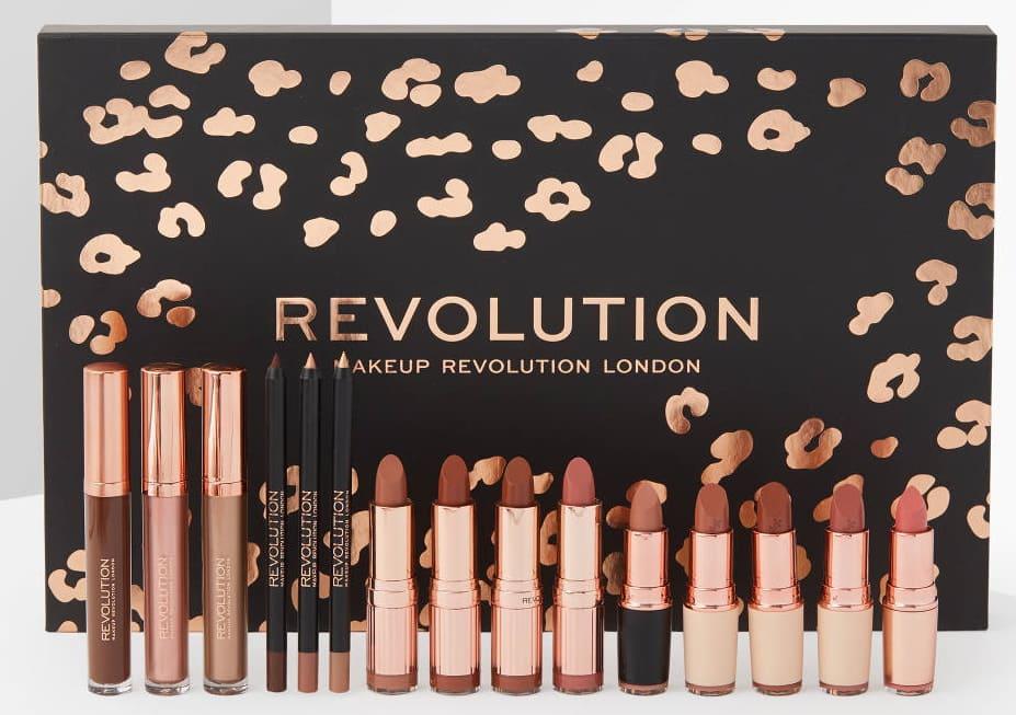 Cofanetti trucco labbra Makeup Revolution