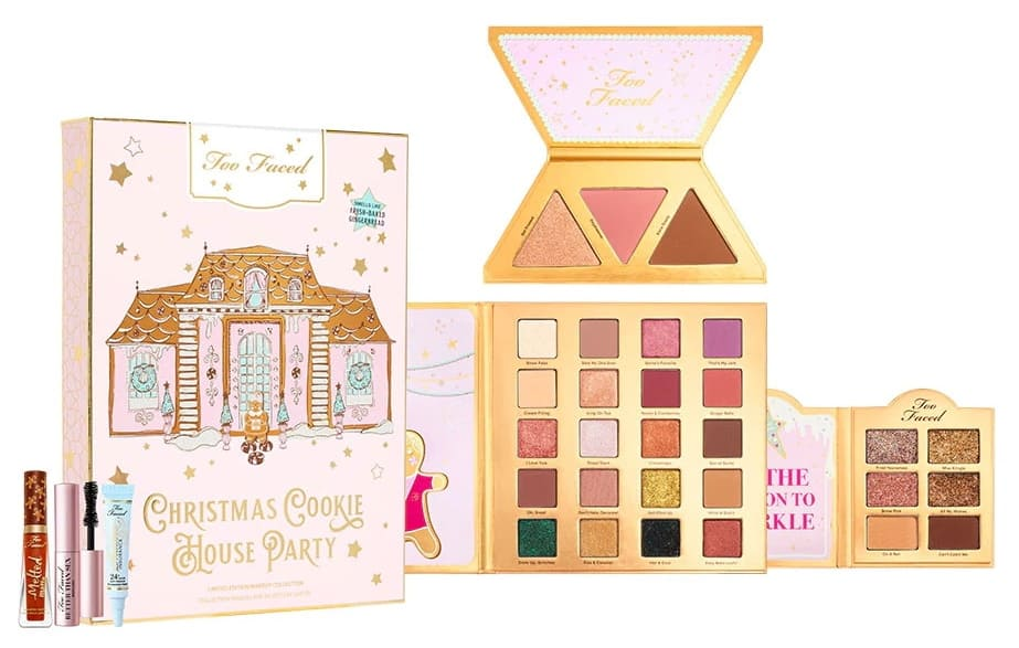 Cookie House Party Too Faced Holiday 2019