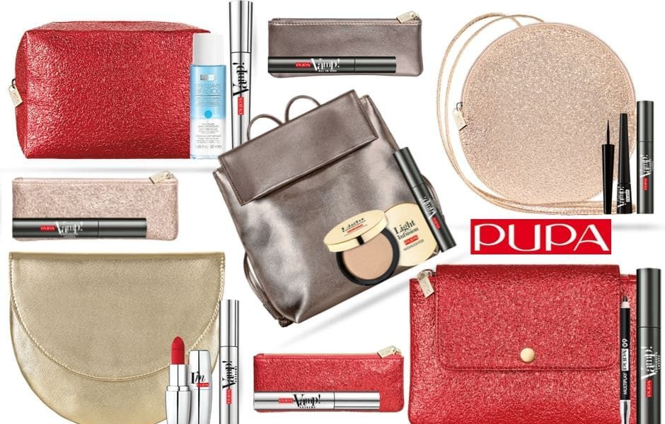 Idee regalo Pupa Natale 2019 - Kit make-up