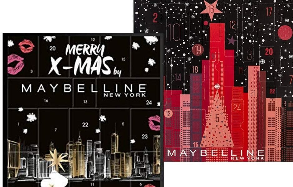 Maybelline Natale 2019 Calendari Avvento make-up