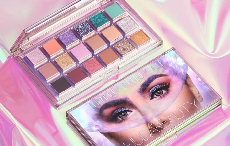 Nuova palette occhi Huda Beauty Mercury Retrograde