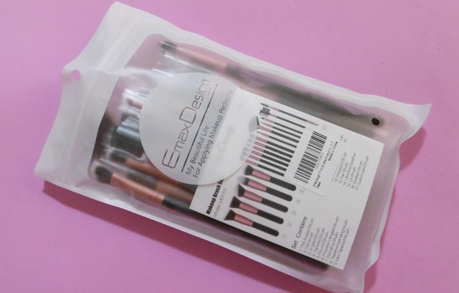 Set pennelli trucco Emaxdesign