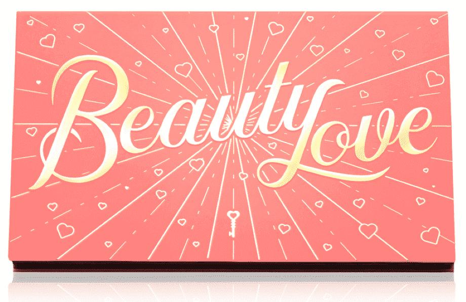 Cliomakeup Beauty Love palette ombretti