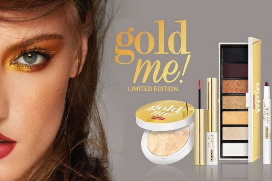 Gold Me! Pupa trucco Natale 2019
