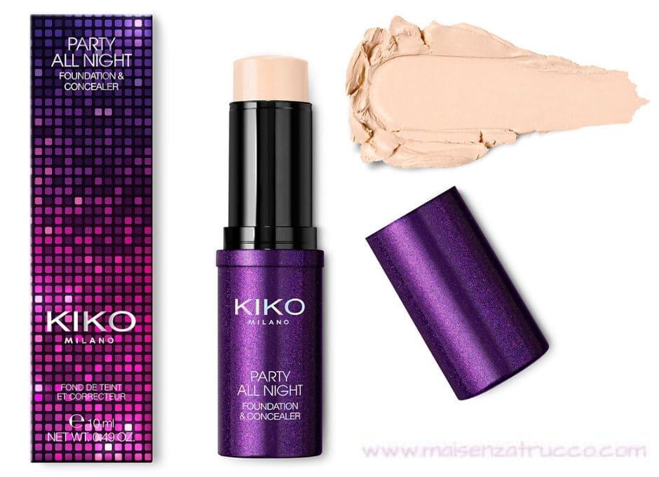 Kiko Capodanno 2020 fondotinta e correttore 2in1
