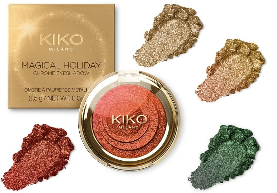 Kiko Magical Holiday ombretto metallico