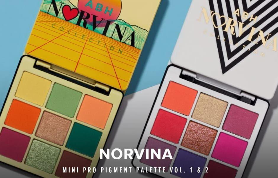 Mini Norvina palette Anastasia Beverly Hills