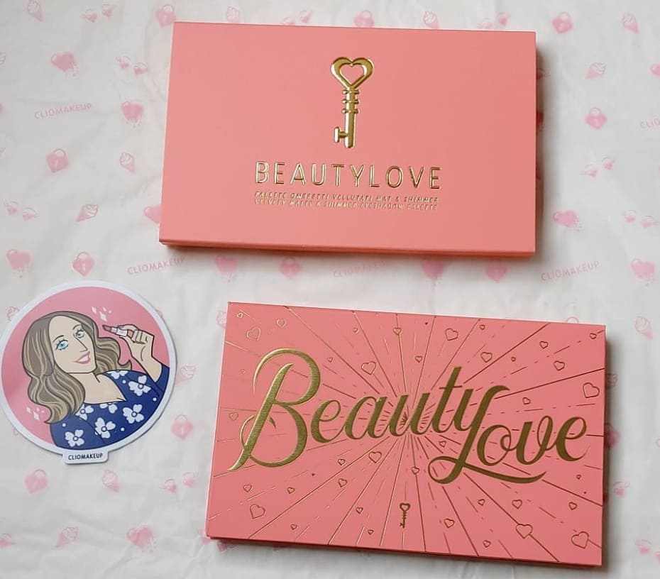 Palette Beauty Love ClioMakeUp