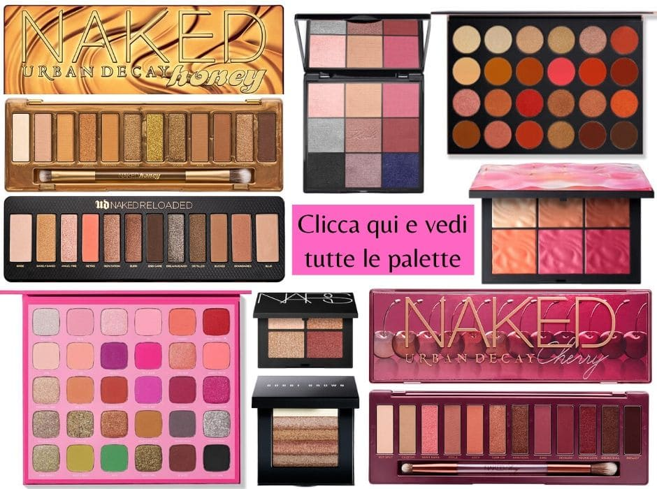 Palette scontate Black Friday Lookfantastic