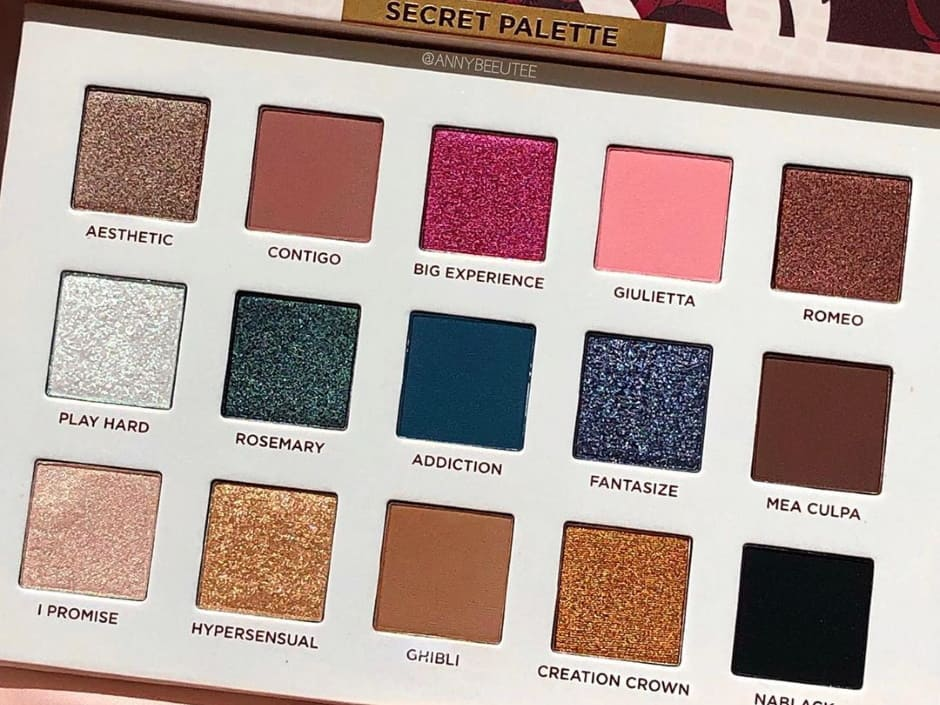 Sconti Black Friday palette Nabla