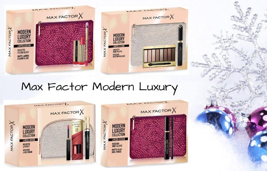 Pochette Max Factor Natale 2019 Modern Luxury