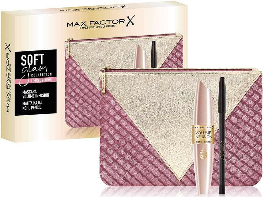 Pochette regalo Max Factor Natale mascara e matita occhi