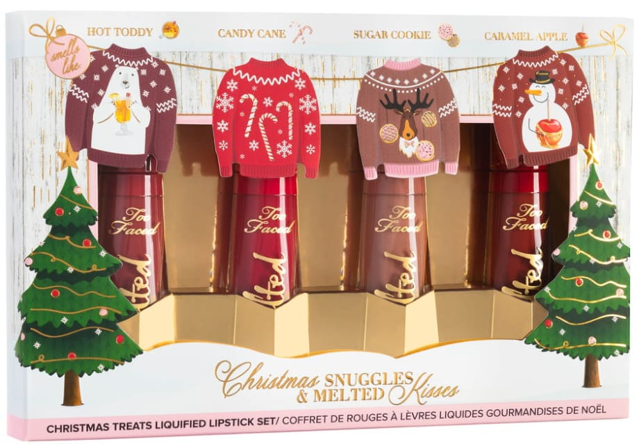 Set rossetti Too Faced Natale 2020