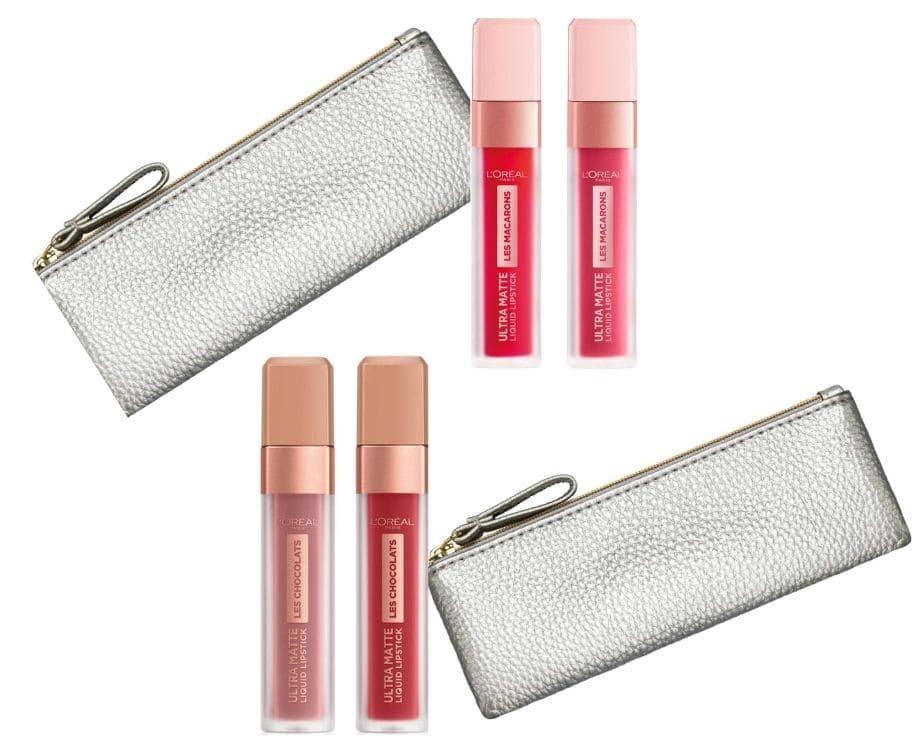 Trucco labbra Natale 2020 cofanetti L'Oréal
