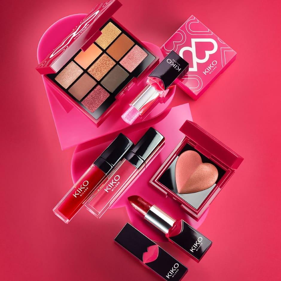 Kiko make-up collezione San Valentino 2020