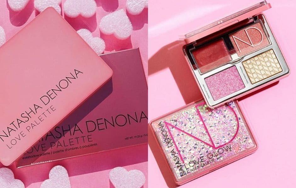 Love Palette Natasha Denona collezione trucco San Valentino 2020