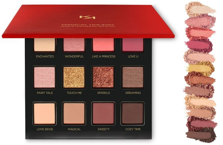 Maxi eyeshadow palette Magical Holiday Natale 2019