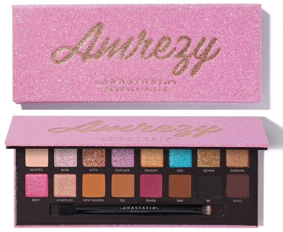 Packaging nuova palette Anastasia Amrezy
