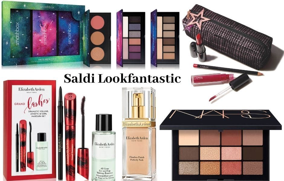 Saldi invernali Lookfantastic 2020 make up e skincare