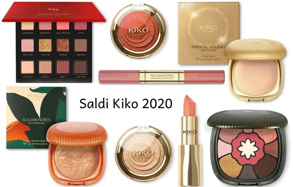 saldi Kiko make up Inverno 2020
