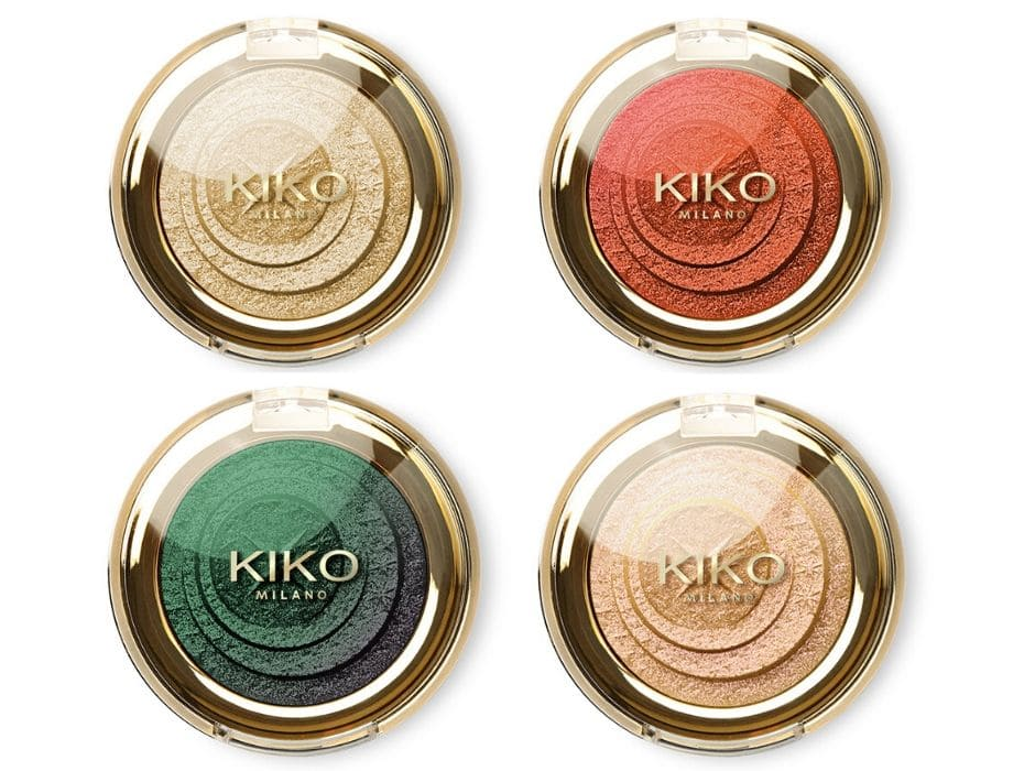 Saldi Kiko make up inverno 2020 ombretti