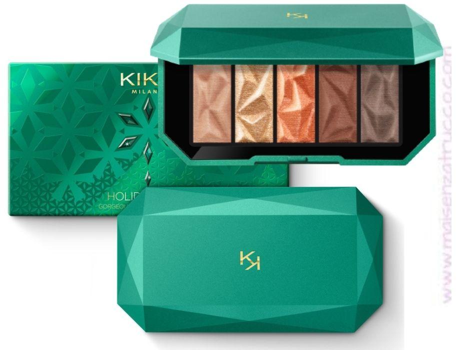 Saldi Kiko Make-Up Inverno palette occhi Holiday Gems