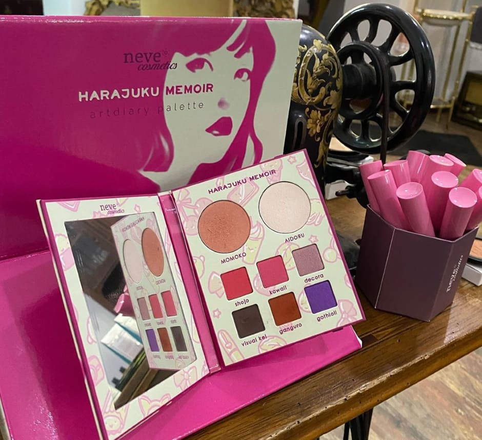 Harajuku Memoir nuova palette Neve Cosmetics