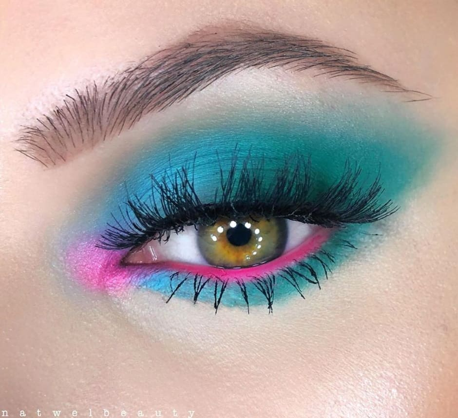 Make up look occhi Norvina