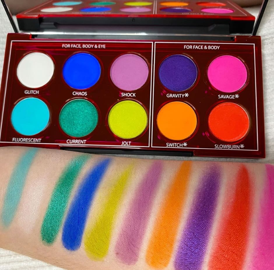 Swatch Wired Palette Urban Decay