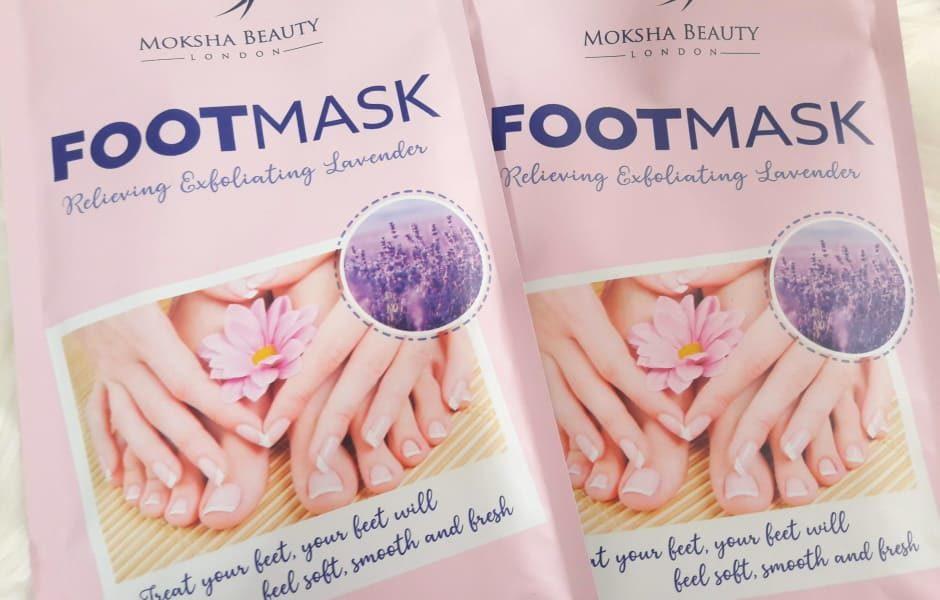 Moksha Beauty maschera per piedi esfoliante rinnovatrice