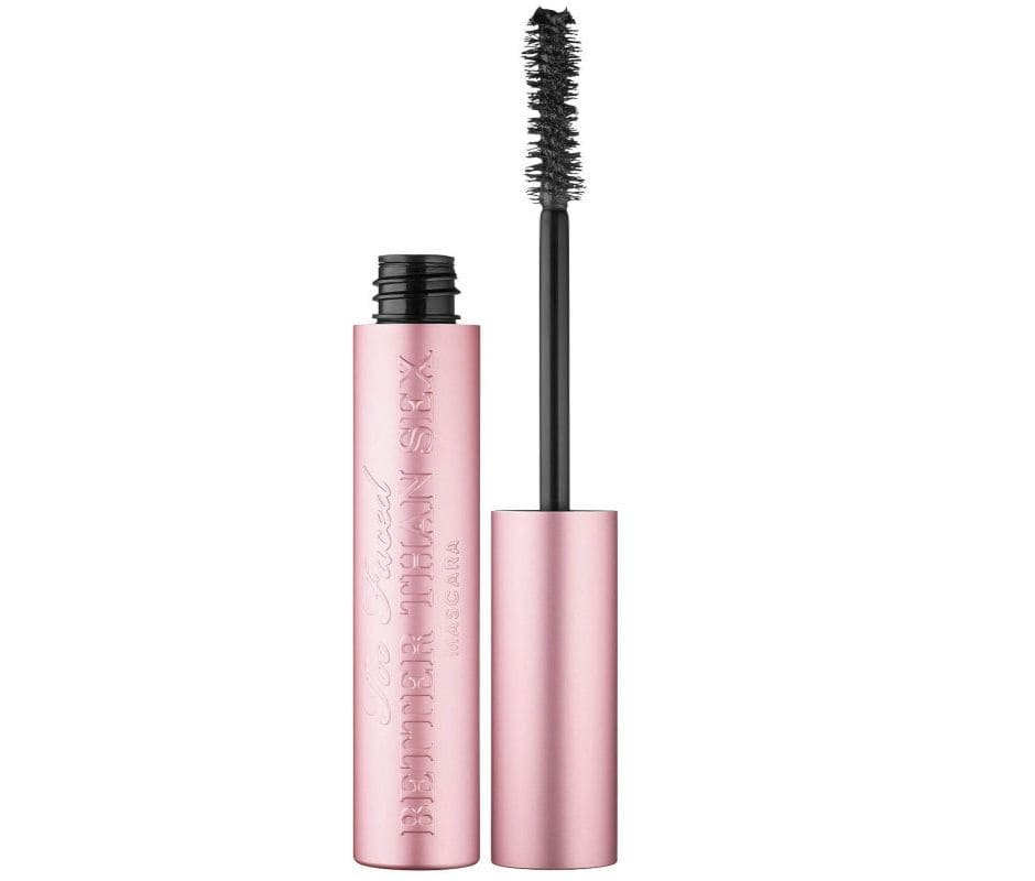 Better Than Sex Too Faced migliori mascara effetto volume