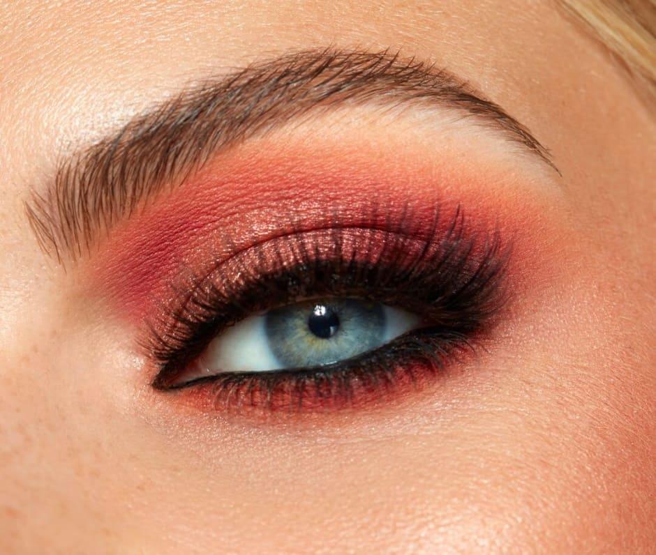 Make-up occhi borgogna Sigma Beauty