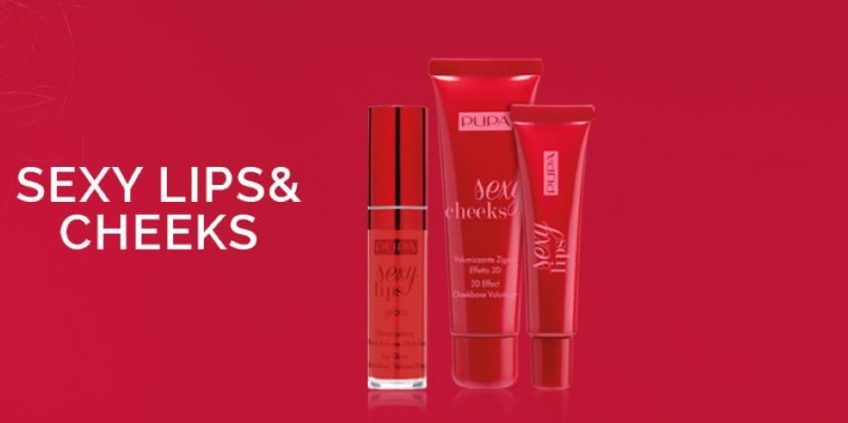 Sexy Lips & Cheeks Pupa Estate 2020 trucco labbra e guance