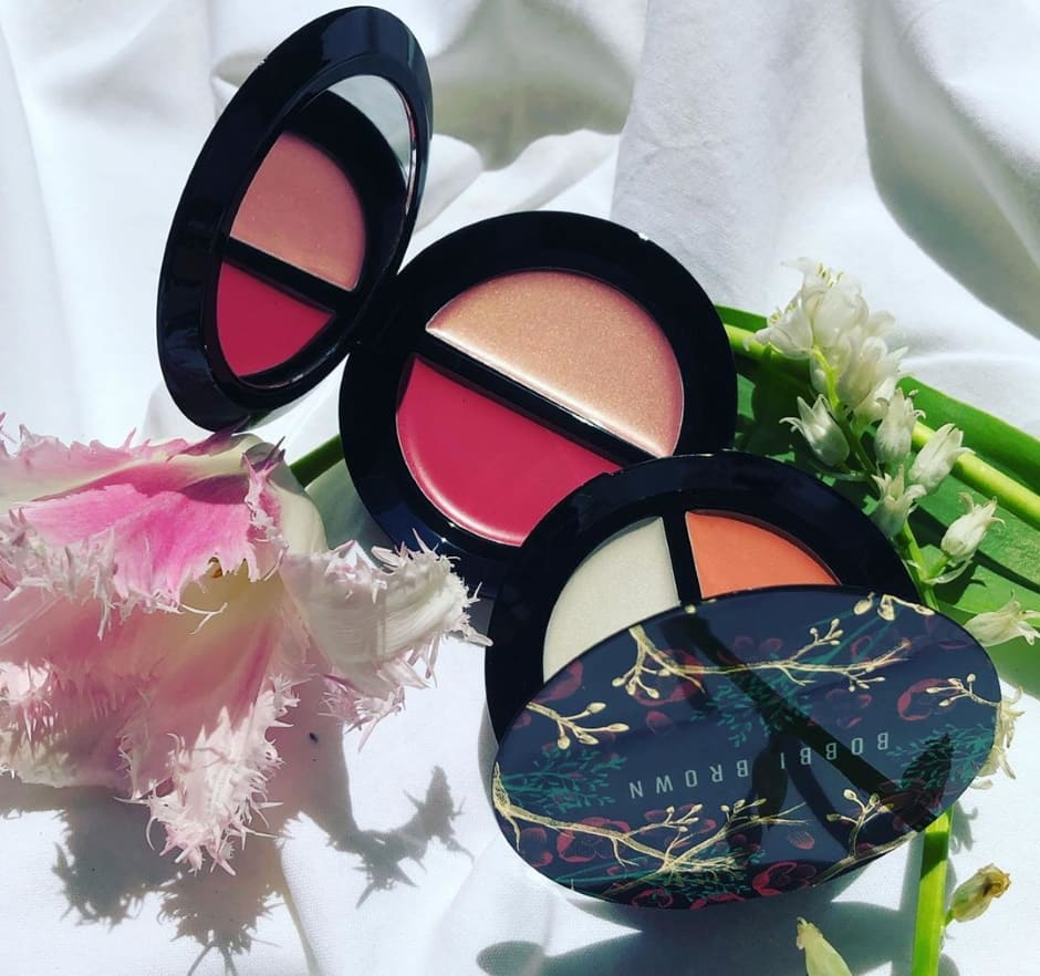 Bobbi Brown duo blush e illuminante Flower Girl