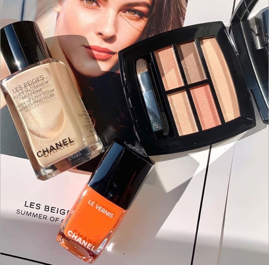 Chanel Summer Of Glow Les Beiges trucco Estate 2020