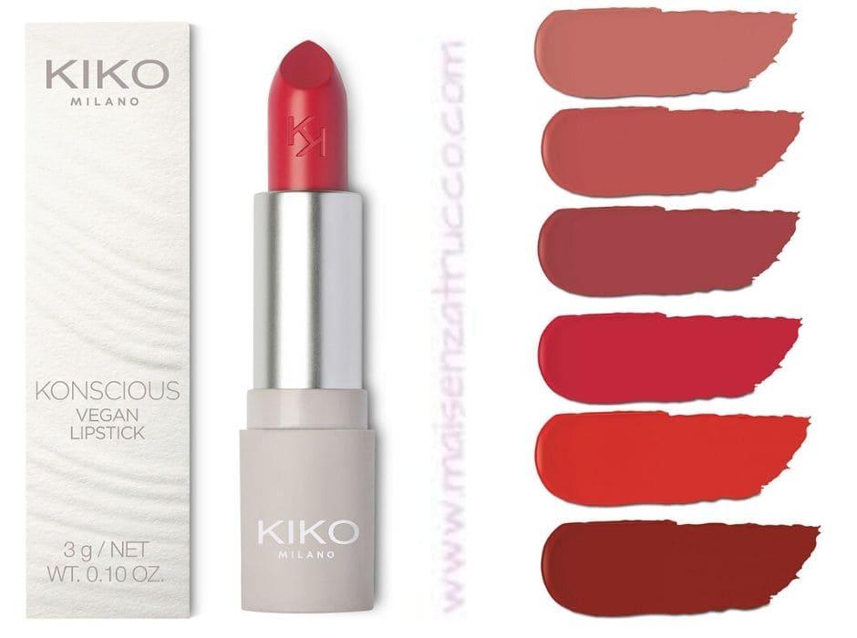 Kiko Konscious Vegan Lipstick