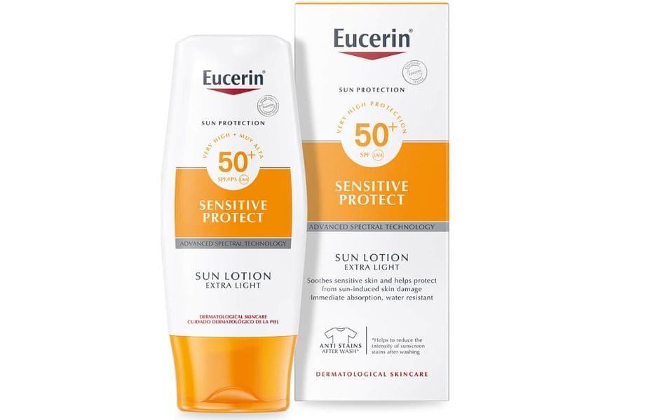 Migliori solari 2020 Eucerin Sun Lotion SPF50