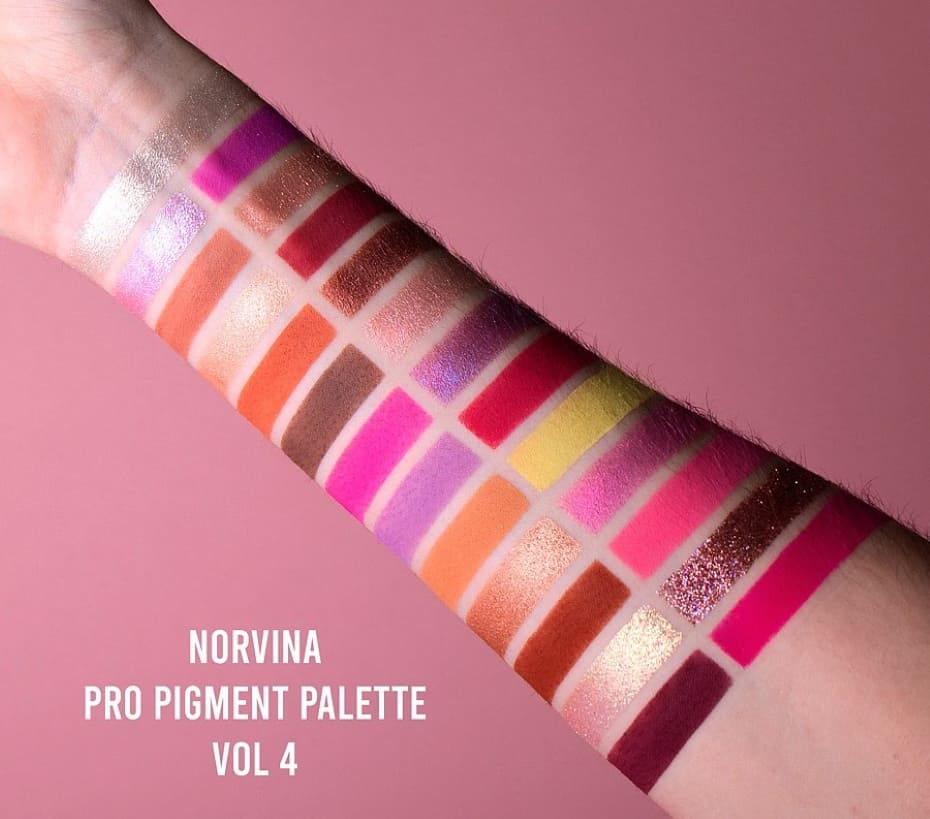 Palette Norvina Vol. 4 swatches