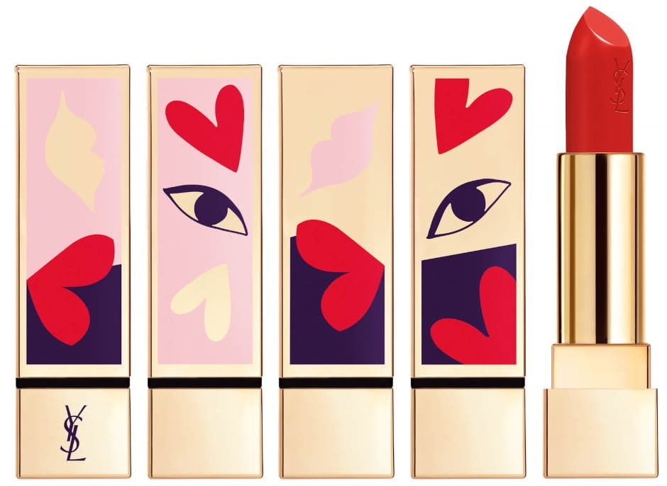YSL Pur Couture Rossetti I Love You So Pop