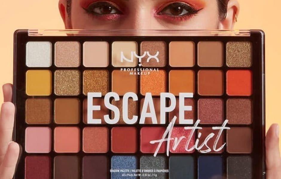 NYX Escape Artist palette occhi