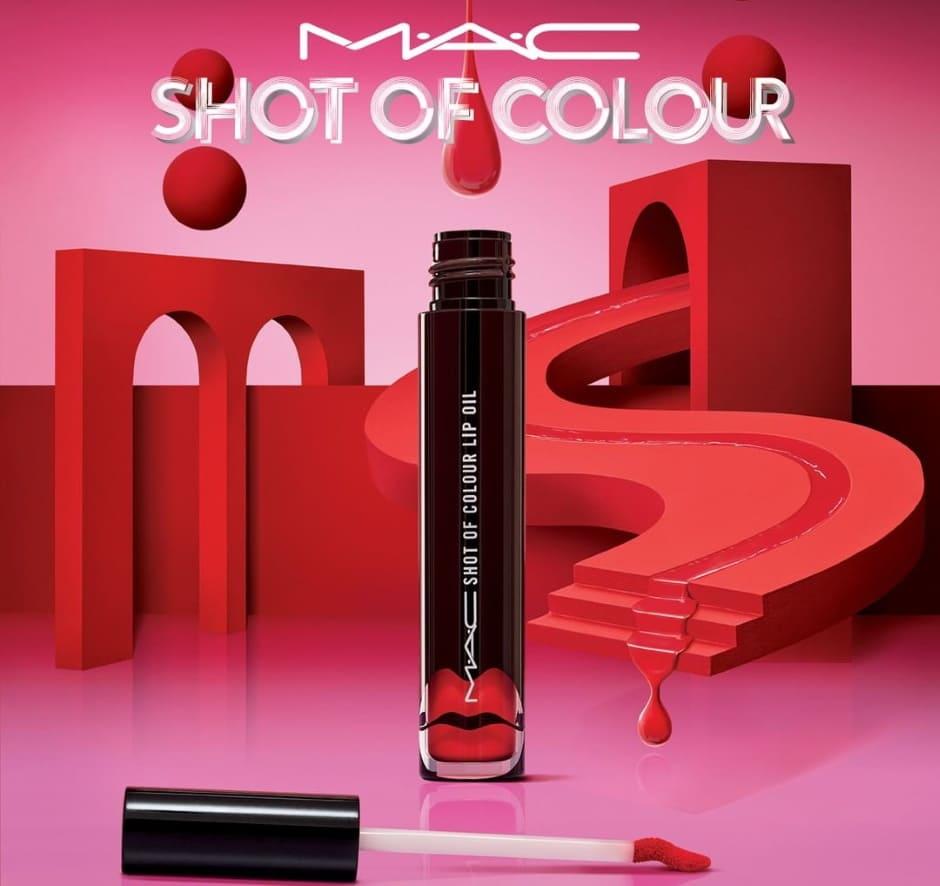 Olio labbra MAC Shot Of Colour Estate 2020