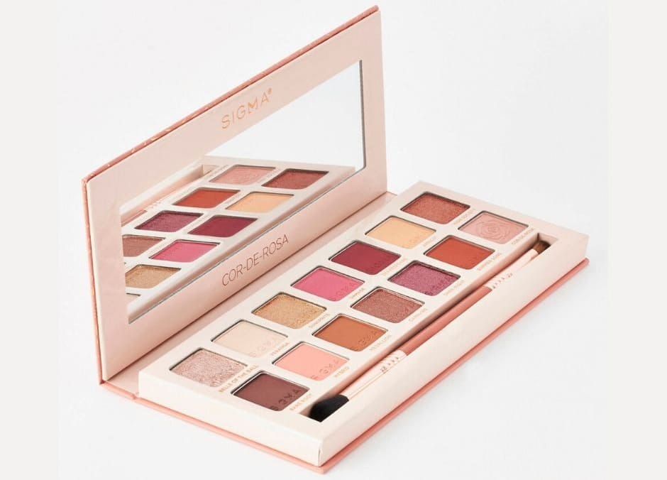Sigma Beauty COR-DE-ROSA palette occhi Estate 2020