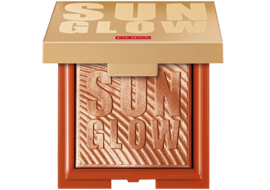 Sun Glow Compact Highlighter Pupa Suncrush
