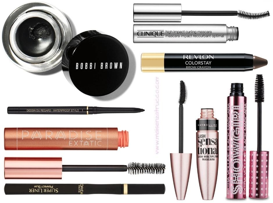 Lookfantastic saldi Estate 2020 mascara, eyeliner e matite