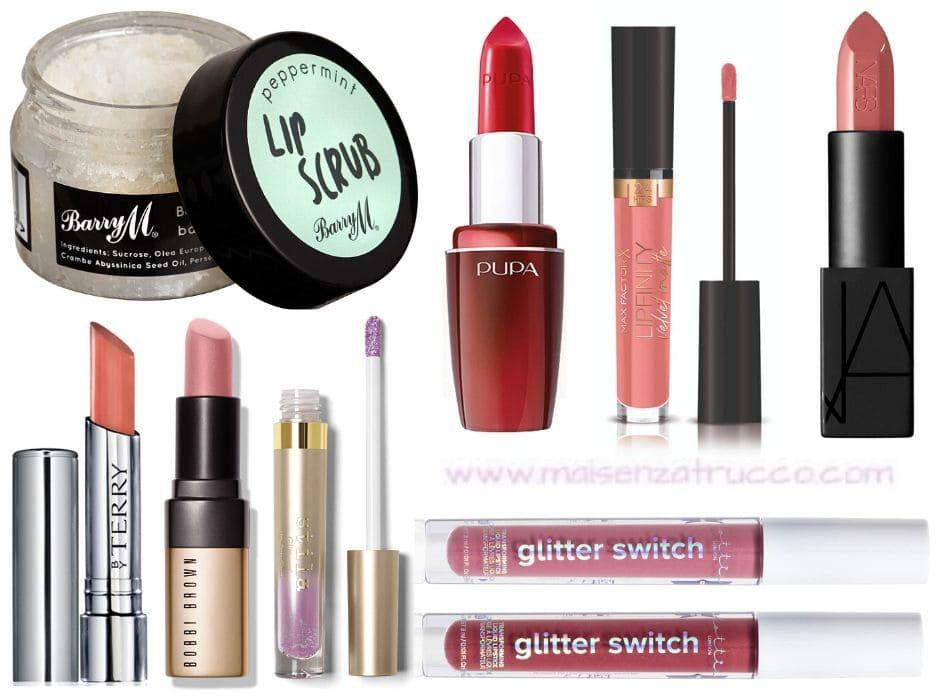 Sconti make-up estivi rossetti e lipgloss
